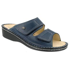 Finn Comfort Jamaica Leather Soft Footbed Jeans Sandals