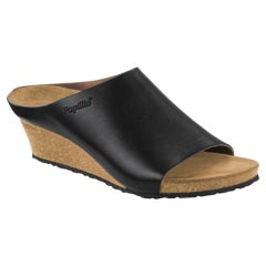 Birkenstock Debby Leather Black Sandals