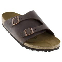 Birkenstock Zurich Leather Habana Sandals