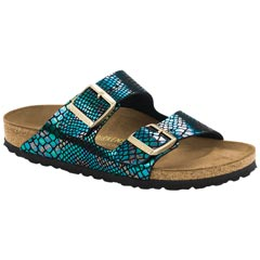 Birkenstock Arizona Birko-Flor Black Multi Sandals