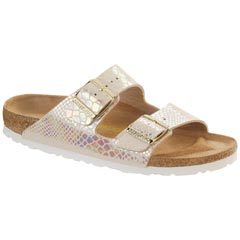 Birkenstock Arizona Birko-Flor Cream Sandals