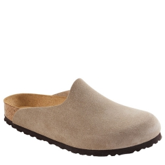 AMSTERDAM SUEDE SOFT FOOTBED TAUPE