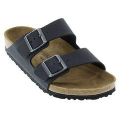 Birkenstock Arizona Vegan Microfiber Anthracite Sandals