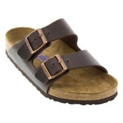 Birkenstock Arizona Leather Soft Footbed Brown