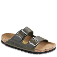 BIRKENSTOCK ARIZONA LEATHER EMERALD