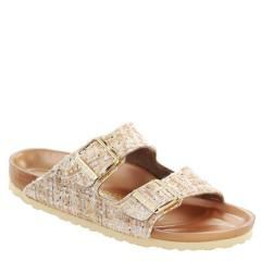 Birkenstock Arizona Textile Allure Beige Sandals