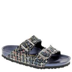 Birkenstock Arizona Textile Allure Gray Sandals