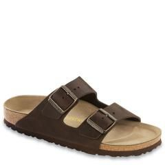 Birkenstock Arizona Leather Soft Footbed Habana