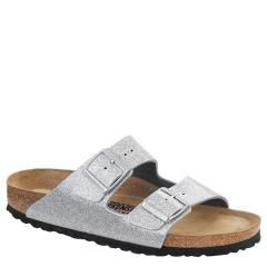 Birkenstock Arizona Birko-Flor Soft Fb Silver Sandals