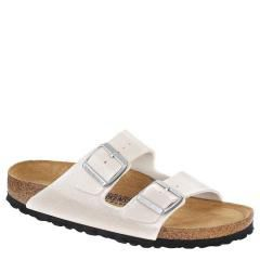 Birkenstock Arizona Birko-Flor Soft Fb White Sandals