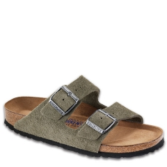 ARIZONA SUEDE SOFT FOOTBED BKARISUSF7