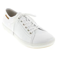 ARRAN LEATHER white