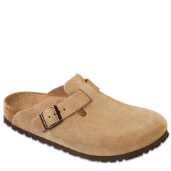 BOSTON SUEDE SOFT FOOTBED JASPER