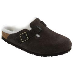 Birkenstock Boston Suede Mocha