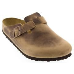 Birkenstock Boston Leather Tobacco