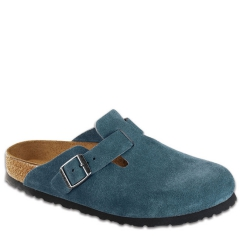 BOSTON SUEDE SOFT FOOTBED TURQUOISE