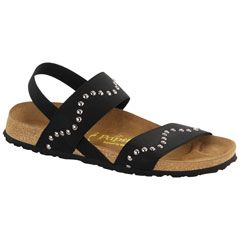 Papillio Caterina Stretch Black Sandals