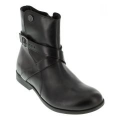 Birkenstock Collins Leather Black Boots