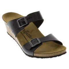 Birkenstock Dorothy Birko-Flor Licorice Sandals