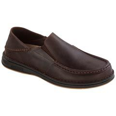 Birkenstock Duma Leather Dark Brown