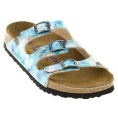 Birkenstock Florida Birko-Flor Soft Fb Blue Sandals