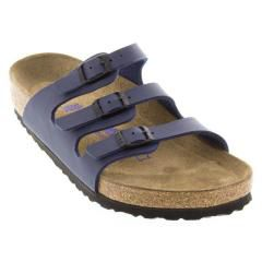 Birkenstock Florida Birk-Flor Soft Footbed Navy Sandals