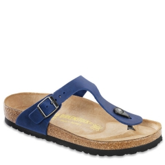 BIRKENSTOCK GIZEH LEATHER TWILIGHT BLUE