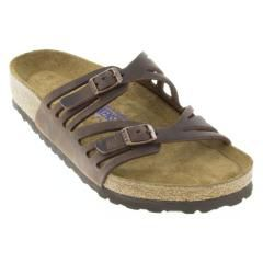BIRKENSTOCK GRANADA LEATHER SOFT FOOTBED HABANA