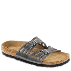 GRANADA LEATHER SOFT FOOTBED IRON