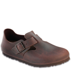 BIRKENSTOCK LONDON OILED LEATHER HABANA