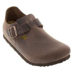 LONDON OILED LTH SOFT FOOTBED BKLONLT11