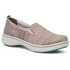 Dansko Belle Canvas Stone Shoes