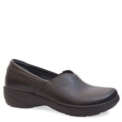 Dansko Abigail Milled Full Grain Lth Black Shoes
