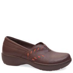 ABIGAIL LEATHER BROWN RUST