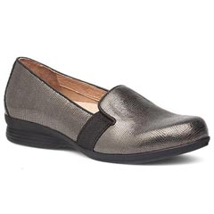 Dansko Addy Leather Metallic Shoes