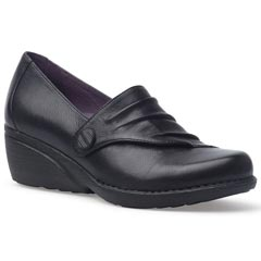 Dansko Aimee Nappa Leather Black Shoes