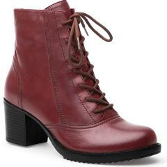 Dansko Ames Antiqued Calf Leather Red Boots