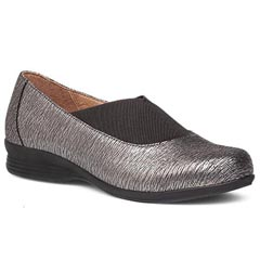 Dansko Ann Leather Pewter Shoes