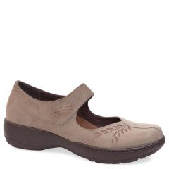 ANNIE LEATHER TAUPE BROWN