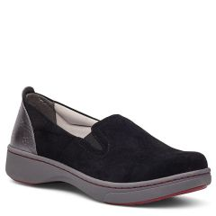 Dansko Belle Suede Black Shoes