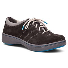 Dansko Brandi Suede Graphite Shoes