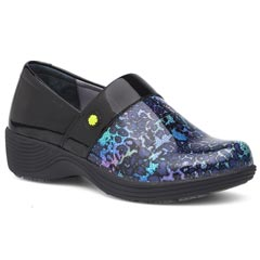 Dansko Camellia Patent Leather Multi Clogs