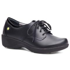 Dansko Cosmos Leather Black Shoes