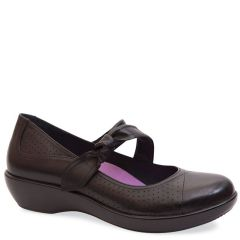 DEIDRA LEATHER BLACK