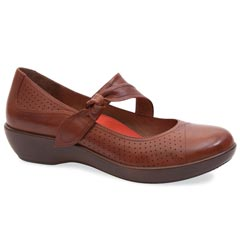 DEIDRA LEATHER COGNAC