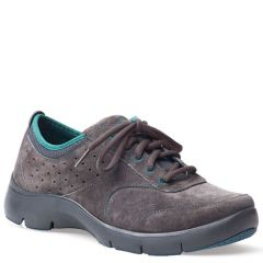 Dansko Elaine Suede Charcoal Shoes