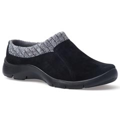 Dansko Emily Suede Black Shoes