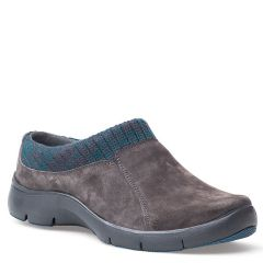 Dansko Emily Suede Charcoal Shoes