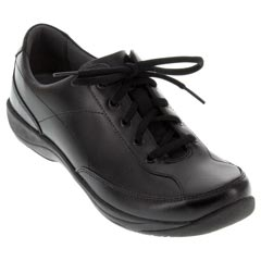 Dansko Emma Leather Black Shoes