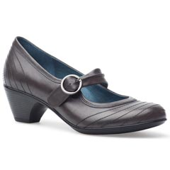 Dansko Fernanda Antique Calf Leather Grey Shoes